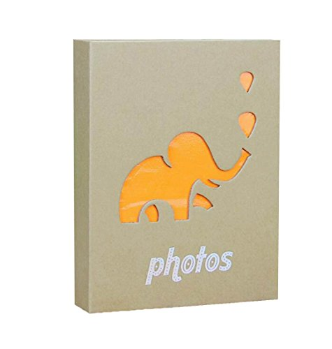 - WEI LONG Photo Album Hold 200 Pockets, 3.5