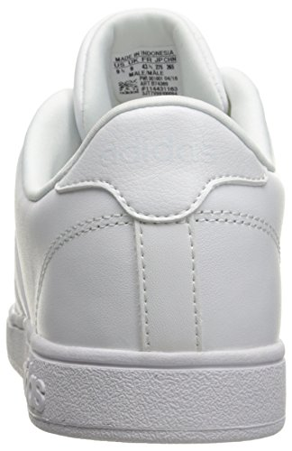 Adidas Prestaties Heren Basislijn Fashion Sneaker Wit / Wit / Wit