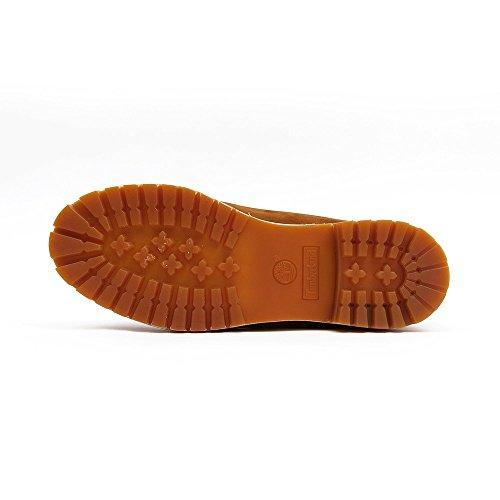 Rust Inch Waterproof Premium orange 6 Marron Bottes Homme Timberland Classiques AwqU8p7