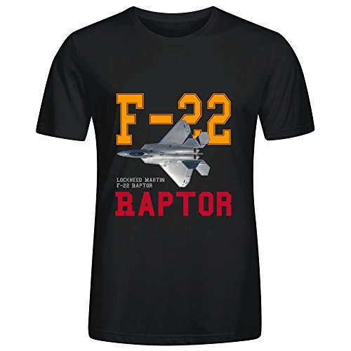 meganho-custom-lockheed-martin-f-22-raptor-man-t-shirts-cotton-o-neck-black