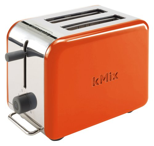 Cheap DeLonghi pop-up toaster kMix Orange TTM020J-OR