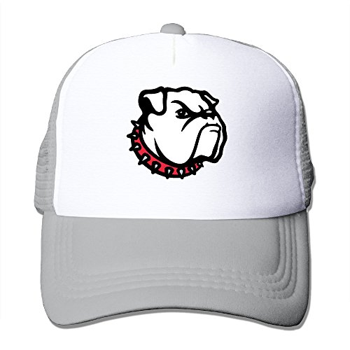 ACMIRAN University Of Georgia Bulldogs 02 Personalize Sunhats One Size Ash