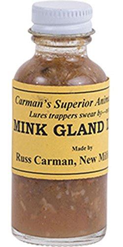 Mink Gland Lure by Russ Carman (4 oz. Bottle)