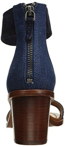 Frye Femmes Brielle Dos-zip Robe Sandale Denim-73602