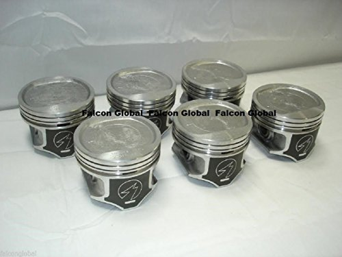 Jeep Cherokee Wagoneer 4.0 4.0L 242 Sealed Power Pistons Set of (6) 1996-2006. (.020