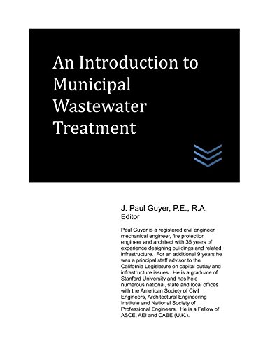 An Introduction to Municipal Wastewater Treatment