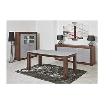 b3b331e9f6e82d Générique Astone Table a Manger Extensible de 8 a 10 Personnes Style  Contemporain