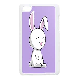 Pharrel Bunny Ipod Touch 4 Case bunny, Design Bunny, {White}