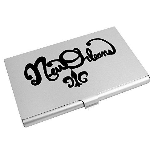 Azeeda Card Wallet Card Text' Business 'New Orleans CH00011317 Credit Holder POrPq0x