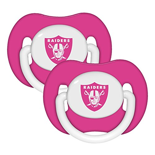 Football Infant Girls Pacifier 2 Pack
