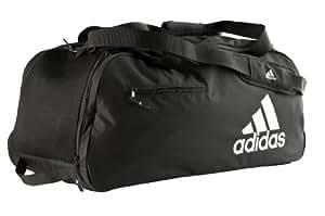 Adidas Tour Bag - Bolsa de mesa de ping pong, color negro