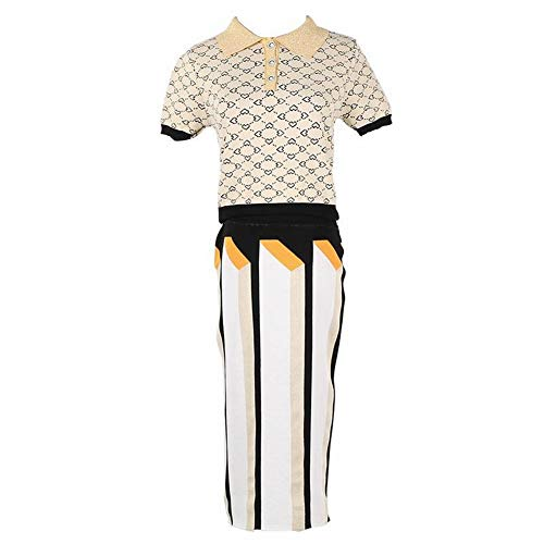 Good dress Patrón Rómbico de Las Mujeres Love Polo Shirt + Stripes ...
