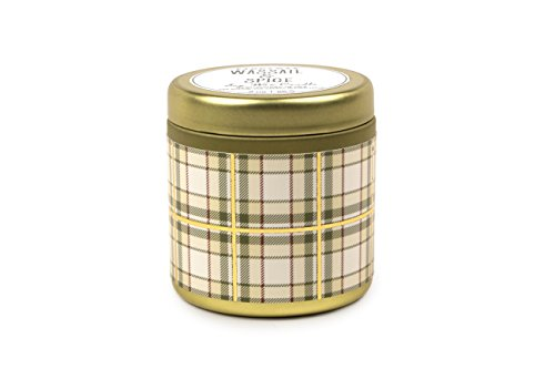 Collection Wassail (Paddywax Tartan Holiday Collection Scented Travel Tin Candle, 3-Ounce, Wassail & Spice)