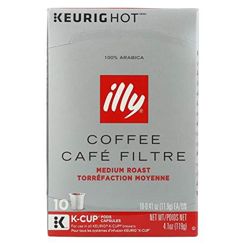 (Illy Caffe, Coffee Capsule Medium Roast, 0.41 Ounce, 10)