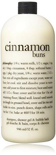 Philosophy Cinnamon Buns - cinnamon buns | shampoo, shower gel & bubble bath | philosophy 32 oz.