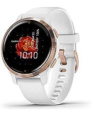 Garmin Venu 2S – smal GPS-fitness smartklocka med ultraskarp 1,1-tums AMOLED-pekskärm, omfattande fitness/hälsofunktioner, över 25 förinstallerade sportappar, Garmin Music & Garmin Pay