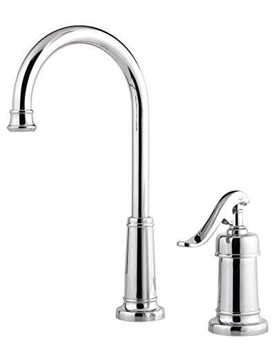 field 1-Handle Bar/Prep Kitchen Faucet, Polished Chrome ()