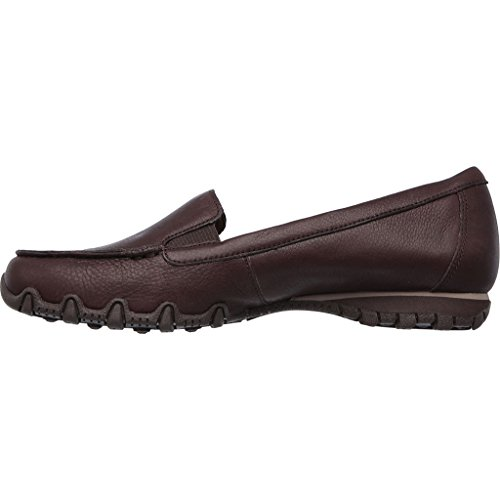 Jane Bikers Femme Marron Choc Lamb Skechers Mary wfdqv0t