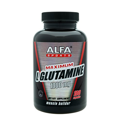 Cheap Maximum L-Glutamine 1000 Mg 100 Capsules. Extreme Sports Nutrition. Muscle Volume. Post Workout Recovery