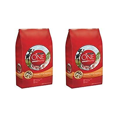 Purina ONE SmartBlend Chicken & Rice Formula Adult Premium Dog Food 31.1 lb. Bag - 2 BAGS