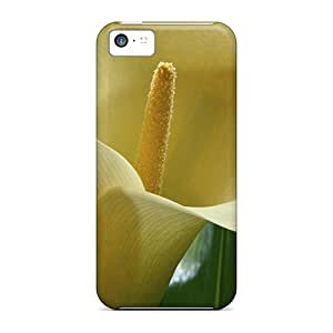 Protective Hard Cell-phone Case For Apple Iphone 5c With Customized Attractive Cala Lilies Hawai Image TimeaJoyce