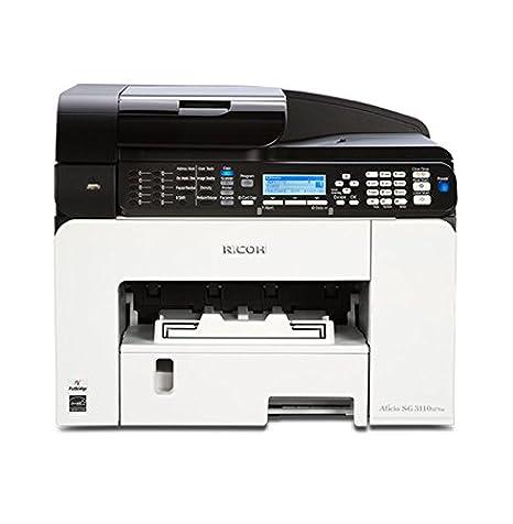 Ricoh Aficio SG 3110SFNW 29ppm 600 x 600 dpi Wireless Network Color GELJET  Multifunction Printer