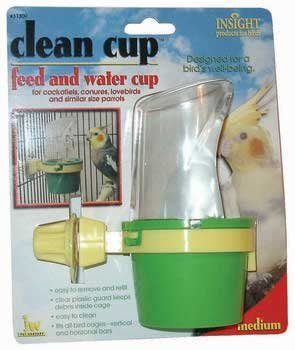 Clean Cup Feed And Water Cup