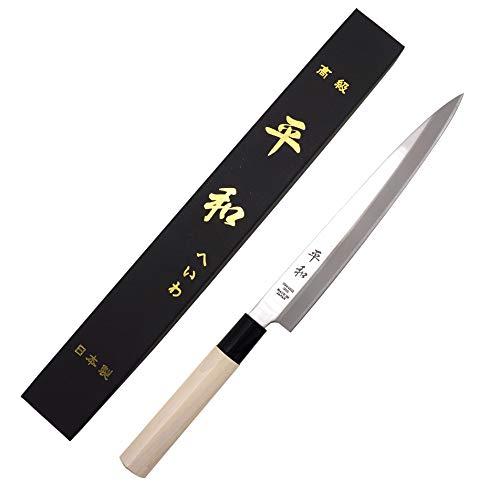 KS&E Hasegawa Stainless Steel Right Handed Japanese Knife, Filet Knife Fish, Asian, Yanagi Sushi Sashimi Knife (8.5-inch(210mm) Right Handed Yanagi) by Peace (Image #7)