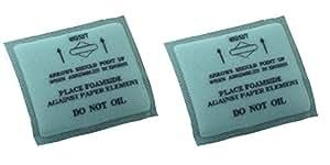 Briggs & Stratton Genuine OEM 493537S Flat Air Filter Pre-Cleaner (2 Pack)