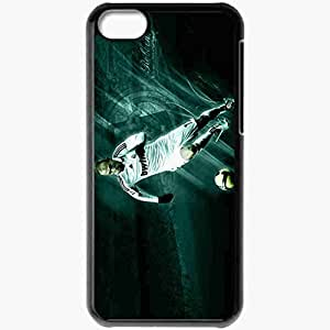Personalized iPhone 5C Cell phone Case/Cover Skin Arjen robben by real squazer Black