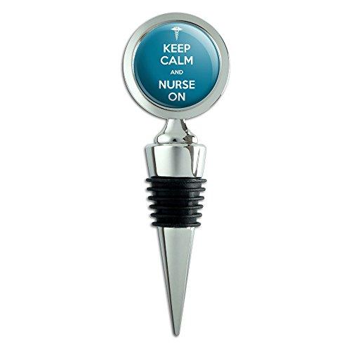 Keep Calm Nurse Bottle Stopper