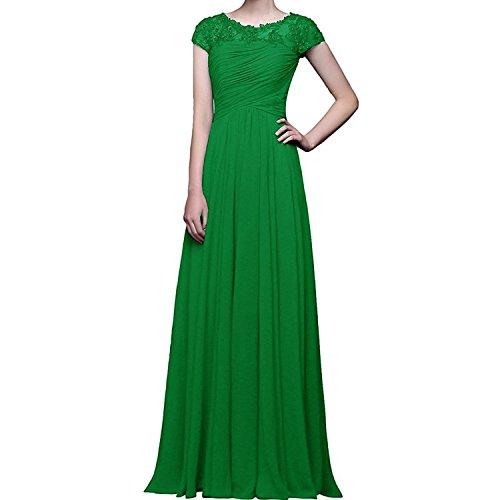 Abendkleider Ballkleider Kurzarm Braut mit La Promkleider mia Blau Grün Navy Abschlussballkleider Brautmutterkleider Herrlich XnHRw6