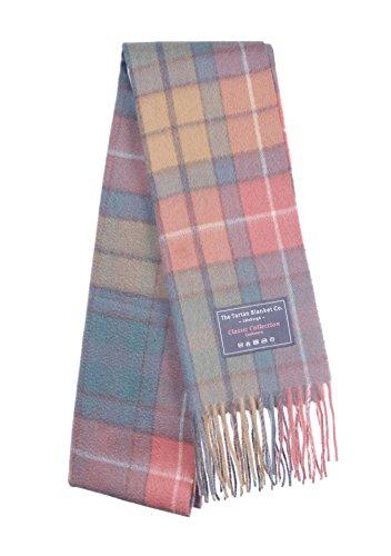 The Tartan Blanket Co. Cashmere Scarf Buchanan Antique Tartan (Antique Wool Blanket)