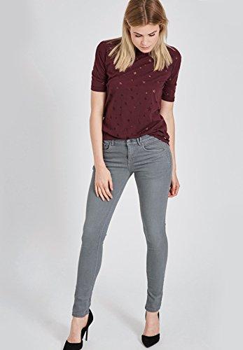 Pantalón Para Gris Liso Khujo Skinny Mujer dpFwxacxqt