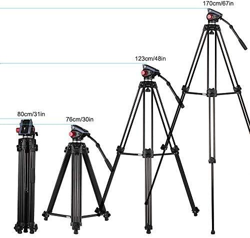 Tripod Portable Tripod Travel Tripod Outdoor Compact Aluminum Camera Tripod Monopod Max Height 51cm Folding Height 16cm Suitable For Mobile Digital SLR Camera Travel Suitable for Getting Started