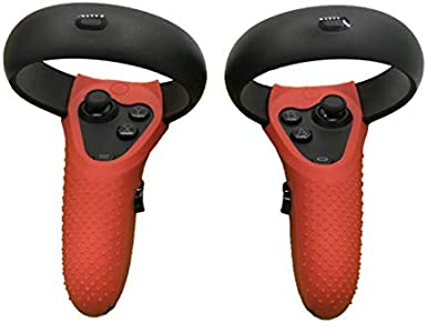 Upgraded Wrist Straps Handle Protective Cover MASiKEN Controller Grip Accessories /& Knuckle Strap for Oculus Quest//Oculus Rift S