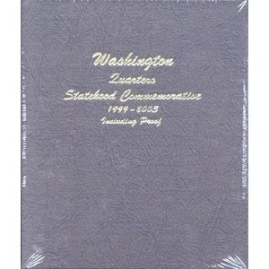 (Dansco 8143 Washington Statehood Quarters Album 1999-2003 w/ Proof)