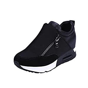 68aed328f79d Aurorax Women s Girls Fashion Sneakers Thick Bottom Platform Shoes For  Sports Running Hiking