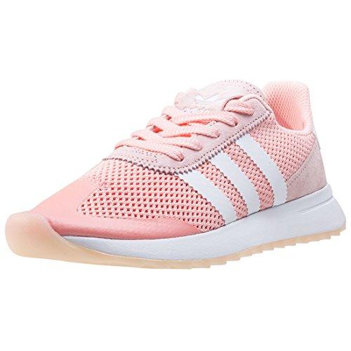 Adidas FLASHBACK W, Hazcore/FTWWHT/HAZCORE/BRUCORE/FTWWBLA/BRUCORE, Farbe Rosa,Größe 42 EU