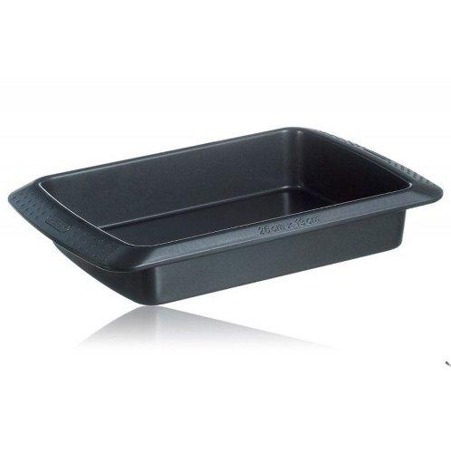 Pyrex - Fuente rectangular para horno, 40 x 30 cm, acero al ...