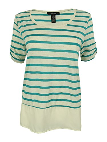 style and co petite tops - 1
