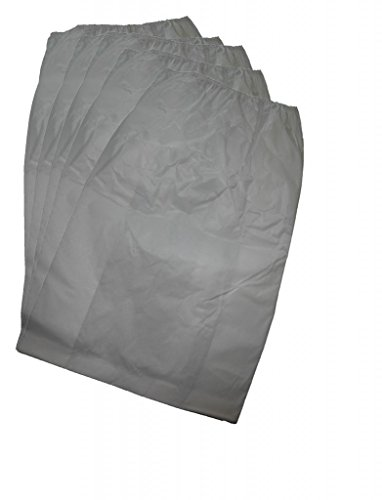 Master Bag (5 bags (1 Pkg)MD (Modern Day) Silent Master, Air Force, AirFlow CFM, Stor-Vac 12 Gallon Central Vacuum Cleaner elastic top Bags Model #'s E, E2, QE2, E3, QE3, G23, SV, and SVT, S1, S2, S3, S4, S44, S5, SP2, SP22, and SP3, vacuums that are taller then 34