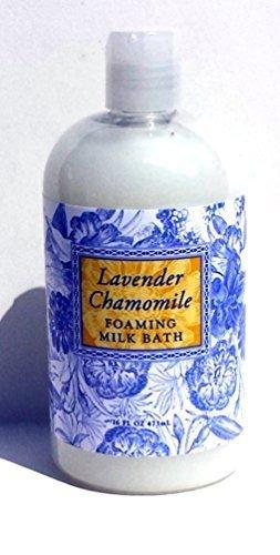 Jasmine Foaming Bath (Greenwich Bay Lavender Chamomile, Foaming Milk Bath With Buttermilk, Shea Butter and Cocoa Butter 16 ounce)