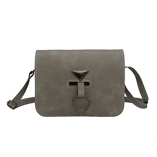 Simple Bag A All Fresh Small New Single Tide Sprnb Match grigio grigio Shoulder IXwCwO