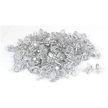 uxcell Home Cupboard Cabinet Drawer 5mm Dia Hardware Shelf Support Pin Clear 600pcs a16063000ux1054