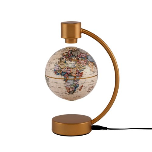 Stella Nova Political Antique Ocean Levitating Globe, (Nova Globe)