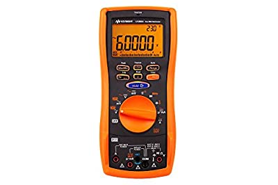 Keysight Technologies U1282A Handheld Digital Multimeter, 4.5 digit, up to 800 hours battery life
