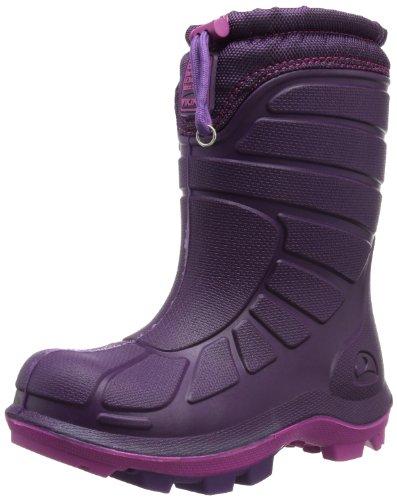 Viking EXTREME, Unisex-Kinder Ungefütterte Schneestiefel, Violett (Purple/Fuchsia 1617), 26 EU