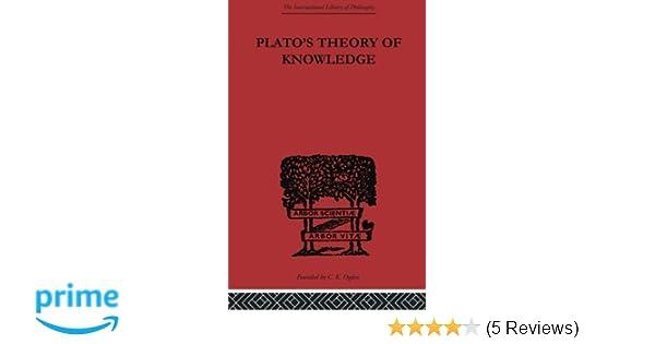 plato theory of knowledge analysis