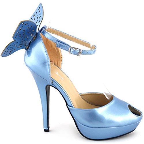 Show Story - tobillo mujer azul - azul